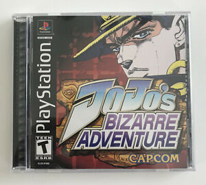 JoJo's Bizarre Adventure PlayStation PS1 Capcom NM with Registration CIB Rare