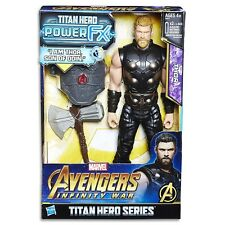Marvel Avengers Infinity War Titan Hero Power FX Thor Action Figure Toy Doll NEW