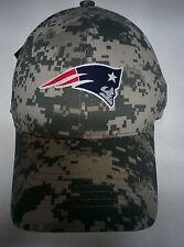 New England Patriots Heat Applied Applique on DIGITAL Camo HAT Cap. Adjustable!
