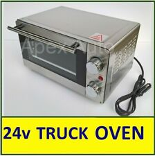 24V Electric OVEN Truck HGV Lorry STAINLESS STEEL  ** Fitted Cigarette plug **
