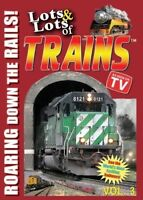 Lots and Lots of Trains Vol. 3 [New DVD]
