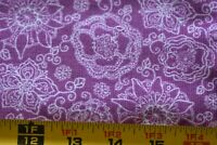 "Purple Leopard-Skin 8-Wale // Wide-Wale Corduroy By 1//2 Yd A465 44/"" Wide"