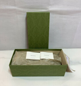 """Gucci Empty Green Box 12.5"""" x 5.5"""" x 4.25"""" Holiday Limited Edition Gift Box"""