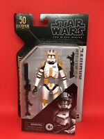 -IN HAND- STAR WARS BLACK SERIES ARCHIVE CLONE WARS COMMANDER CODY NOT MINT