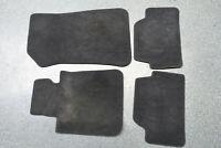 Original BMW 1er E81 E87 Matten Fussmatten Komplette Fußmatten Set schwarz