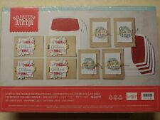 Stampin Up Paper Pumpkin- Joy To The World - Full Kit, makes 8 Elegant cards!