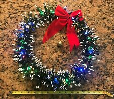 CAR Holiday Christmas Wreath Grille Light Up Lighted Battery Operated Truck 15
