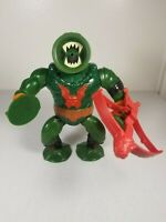 Vintage MOTU Masters of the Universe He-Man Leech 100% Complete Crossbow Bow