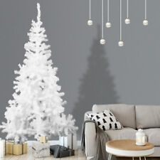 6FT White Christmas Tree - Holiday Festival Home Decoration In/Outdoor w/ Stand