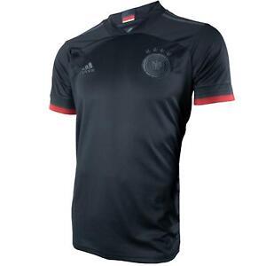 Adidas DFB Deutschland Herren Trikot Away in schwarz - EH6117 Auswärtstrikot