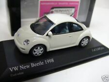 1/43 Minichamps VW New Beetle 1998 weiss 430058005