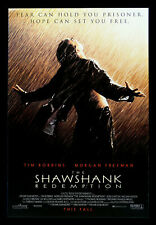 THE SHAWSHANK REDEMPTION ✯ CineMasterpieces ORIGINAL MOVIE POSTER 1994