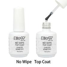 Elite99 Soak Off No Wipe Top Coat UV Gel Polish Nail Art Sealer Manicure 15ml