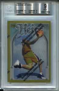 1996 Finest Basketball #269 Gold Kobe Bryant Rookie Card RC Graded BGS Mint 9