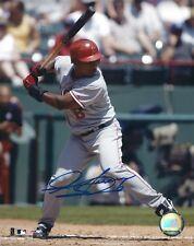 Autographed Jose Guillen California Angels 8x10 photo - Coa