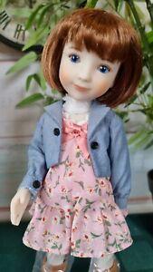 Ruby Red doll. Dara. 31 sm