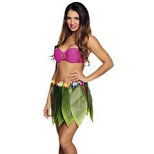 Gli Adulti Bambini Bimbi Hawaiano Hula Gonna /& ILE Cerchietto Braccialetti Costume