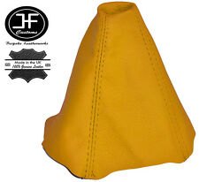 YELLOW LEATHER MANUAL GEAR GAITER SHIFT BOOT FITS CITROEN C2 2003-2009