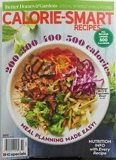 Better Homes & Gardens Calorie Smart Recipes 2017 Nutrition FREE SHIPPING sb