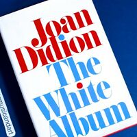 JOAN DIDION THE WHITE ALBUM BOOK HARCOVER IRST EDITION RARE