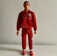 The Six Million Dollar Man New Red Replacement Tracksuit Outfit Two Piece Suit