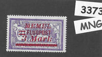 #3373  3.00M Flugpost  MNG stamp ScC25 1922 Memel Lithuania Prussia Germany WWI