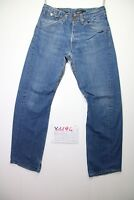 Levi's Engineered 0009 (Cod.Y1194) Tg.47 W33 L32 jeans usato vintage Antiform