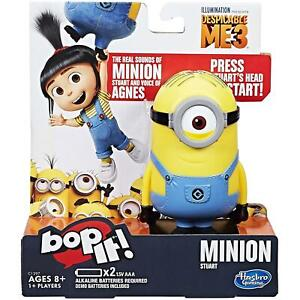 Bop It! Despicable Me 3 Minion Stuart Game by Hasbro Gaming