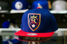 Mitchell & Ness Real Salt Lake Flat Brim Snapback Hat