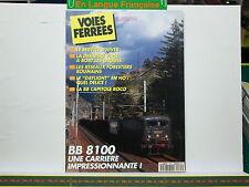 Revue VOIES FERREES 085 Bort les Orgues BB 8100 Daylight en HO BB Capitole Roco