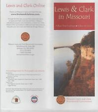 Lewis & Clark in Missouri Follow Their Footsteps 6 Maps 2004 Points of Interest