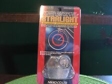 Starlight Bicycle Wheel Reflector Self Charging Bike Light Clear White NOS