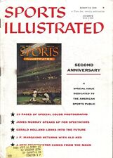 1956 (Aug. 20) Sports Illustrated, Baseball , magazine, Second Anniversary Issue