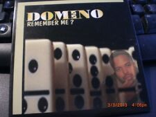 Remember Me?- by Domino-1999 Advance East Coast Rap Promo Only CD In DigiPak