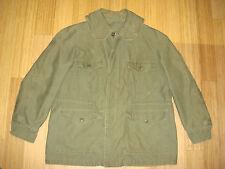 Viet Nam M-51 Field USAF Army Parka Jacket Shawl Collar Field Deck Coat Med RARE
