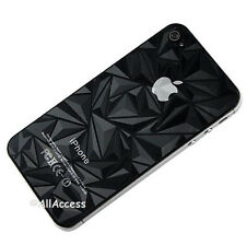 3D NEW Anti Glare Full Matte Screen Protector FRONT BACK For Iphone 4 4G 4S