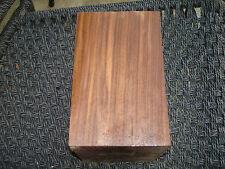 HUGE FIGURED Black Walnut Lumber 4'' x 6 1/2'' x 6 1/2'' Over 40 Years Old SLAB