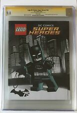 BATMAN LEGO MOVIE CGC SS 9.8 • SIGNED WILL ARNETT & CHRIS MCKAY • DC MAGAZINE