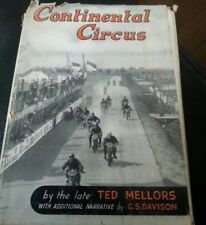 Continental Circus Hardcover – 1949 by T. Mellors Motorcycle Races between Wars