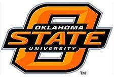 "OKLAHOMA STATE COWBOYS, ORANGE / BLACK PREMIUM 4"" DECAL LICENSED NCAA"