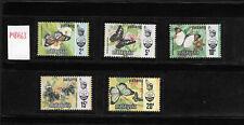 [MY] Malaysia Butterflies Pahang 1977/78 Harrison Photogravure SG106/10