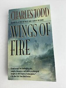 Charles Todd - Wings of Fire - Paperback