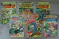 Marvel Comics 70's All Colour Super Villain Team Up Comic Book Bundle DR. Doom