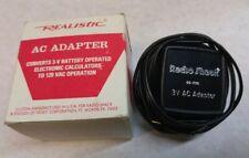Radio Shack 3V, 100mA Ac/Dc Wall Wart Power Supply Adapter Cord Mod#65-735A
