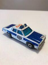 HTF! Vintage Matchbox Superfast SFPD Plymouth Gran Fury Police Car 1:64