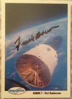 Astronaut Frank Borman Signed NASA Gemini 7 First Rendezvous SpaceShots Card