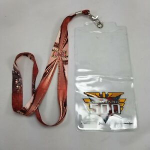 2014 Indianapolis 500 Event Lanyard Credential Ticket Holder WinCraft 98th