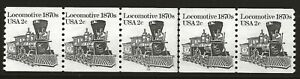US Scott #1897A, Plate #10 Coil 1983 Locomotive 2c VF MNH