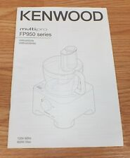 Replacement Manual Only For Kenwood Multi Pro FP950 Series Coffee Makers