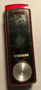 READ 1ST Samsung Juke SCH-U470 - Red Cell Phone Fast Ship Good Used Vintage